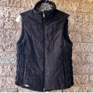 ExOfficio Brown Teal Puffer Vest Great Pockets | S